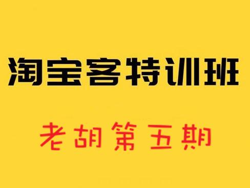 老胡淘客特训营第三、四、五期,价值4999元