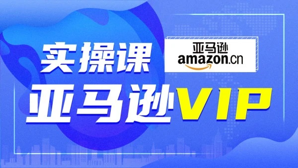 亚马逊VIP实操运营课程,价值4980元