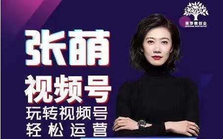 张萌萌姐·视频号实战训练营